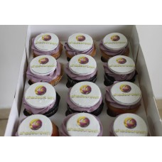 Cupcakes With Edible Picture