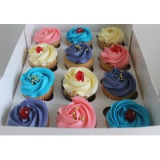 Cupcakes With Assorted Flavours