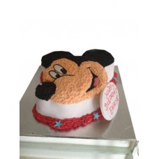 Mickey Mouse Character Cake