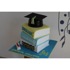Stacked Graduation Caked