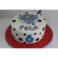 Paw Patrol Cake with Edible Picture